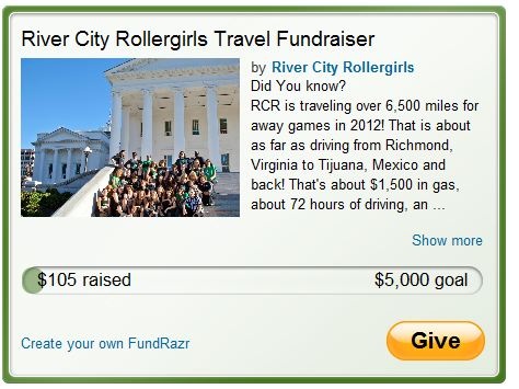 river city rollergirls fundraiser