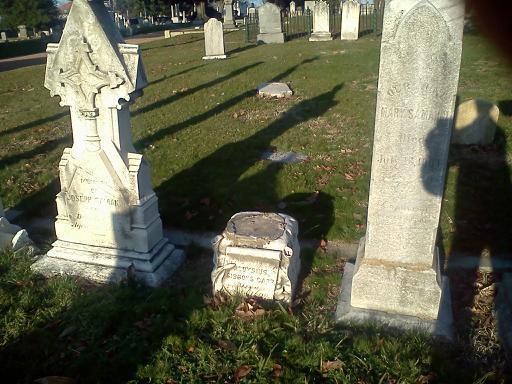 Missing Grave Marker